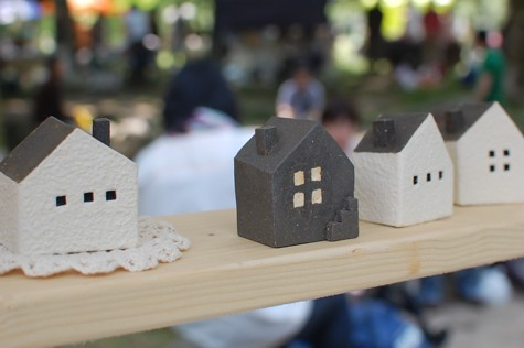 Ceramic Houses With Lights Little Ceramic Houses | by