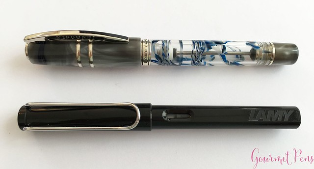 Review Visconti Homo Sapiens London Fog Fountain Pen @AppelboomLaren6