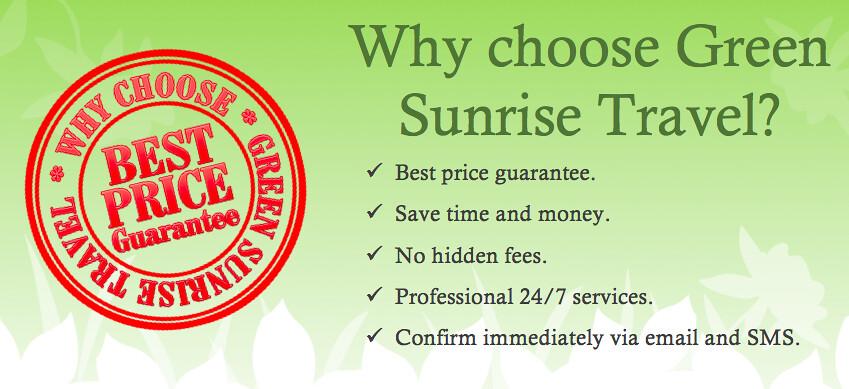 why choose Green Sunrise Travel