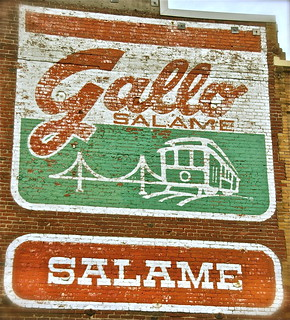 Gallo Salame sign in SOMA | by Fuzzy Traveler