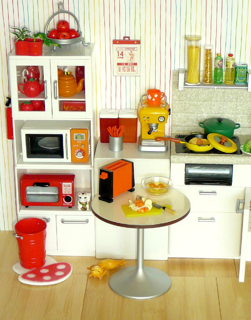 Re Ment Rainbow Kitchen Red Orange Yellow I Decided
