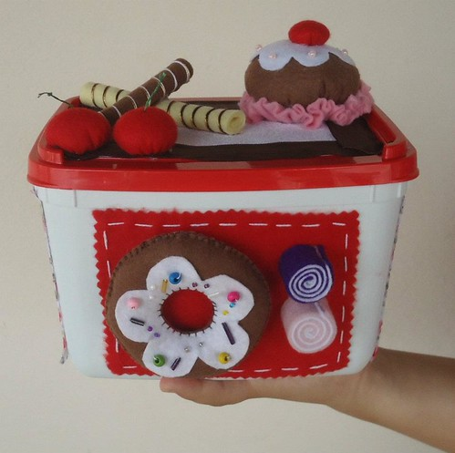 pote de sorvete decorado | by Ju Noveletti