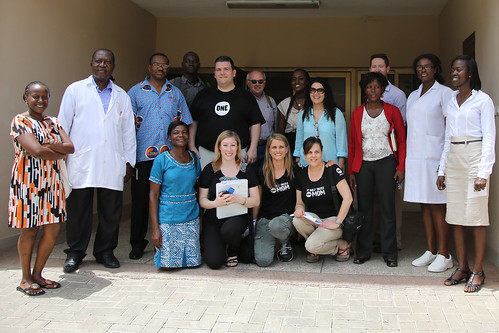 The #ONEDad & #ONEMoms Team in Ghana at Princess Marie Louise Hospital | by CC Chapman