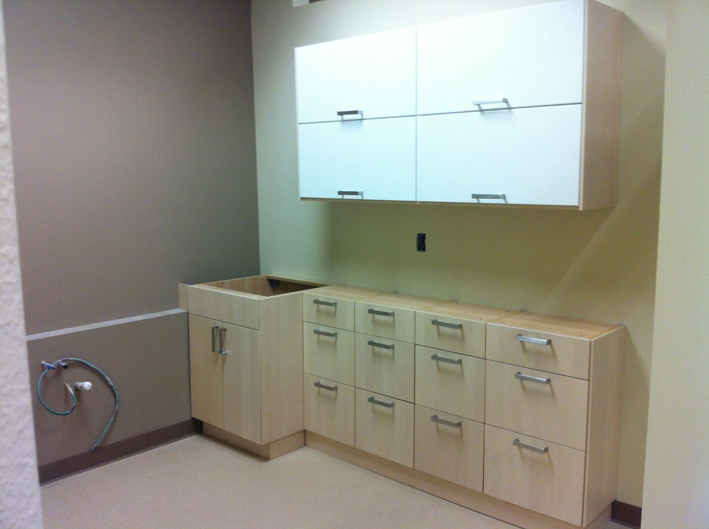 Ikea Upper Lower Kitchen Cabinets For Examination Room Flickr