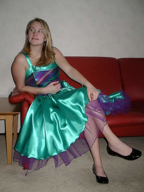 Shiny Satin Skirt Flickr Photo Sharing