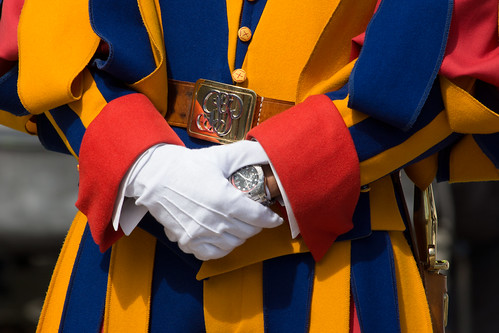 Swiss Guard Detail | by baldheretic