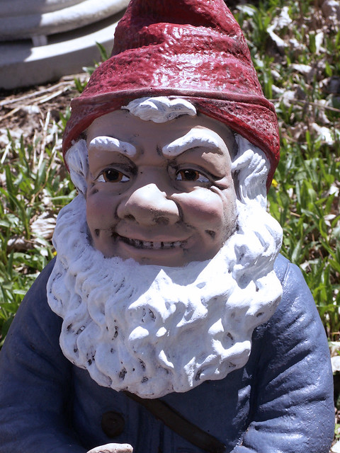 Evil Gnome Flickr Photo Sharing