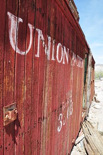 Old Union Pacific Railroad Car - Rhyolite Ghost Town | by Crumblin Down