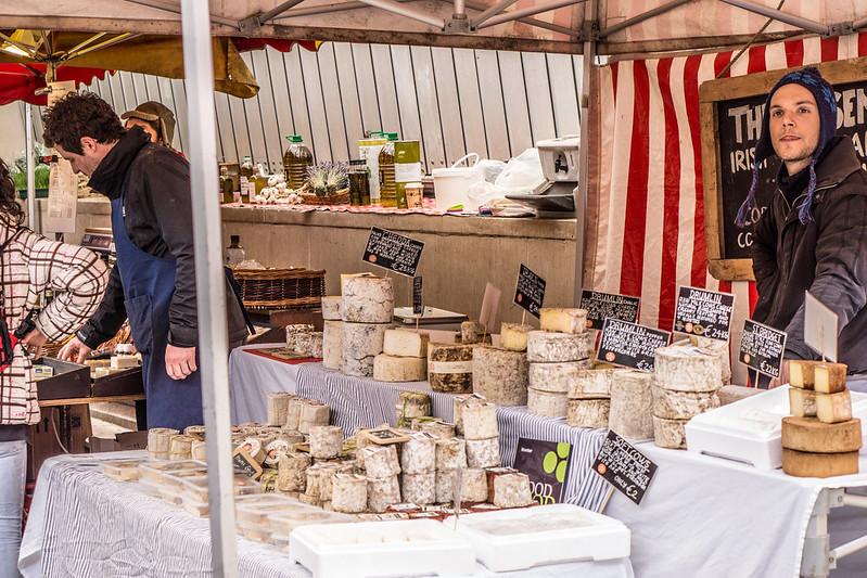 cheese farmers market Dublin Ireland