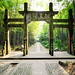 Archway at Bamboo Lined Path at Yunqi (云栖竹径) (Hangzhou)