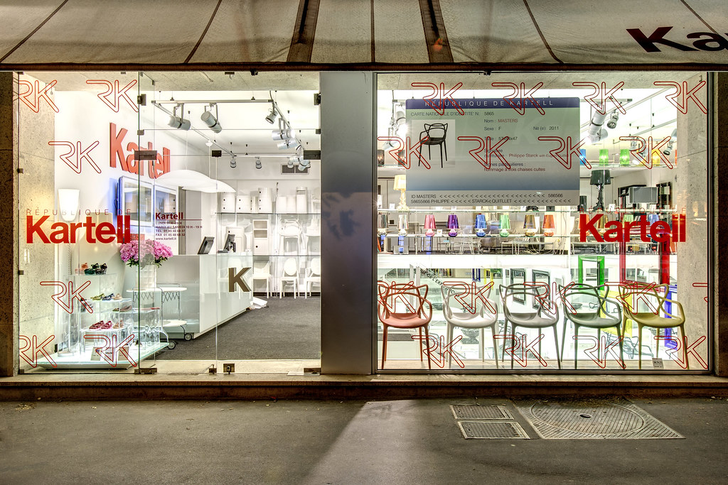 kartell flagship store paris kartell designer 39 s day flickr. Black Bedroom Furniture Sets. Home Design Ideas