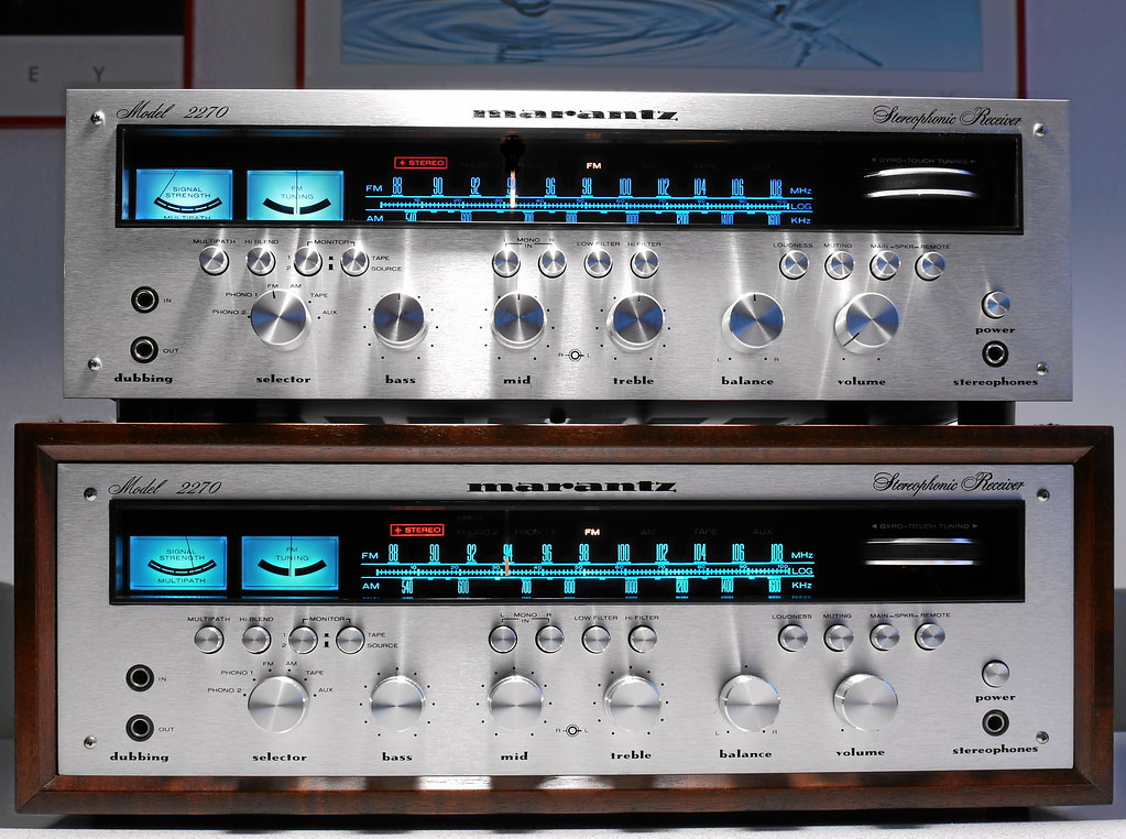 Marantz 2270 Stereo Receiver The Legend In Two Versions