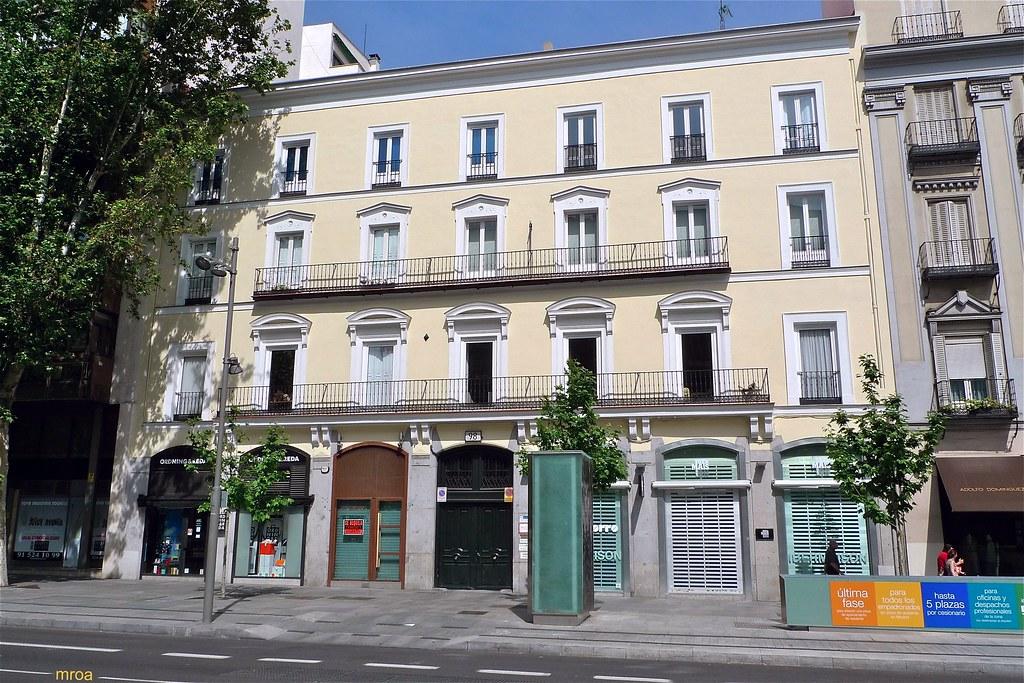 Edificio calle serrano 98 madrid papeler a de dise o for Calle prado 8 madrid