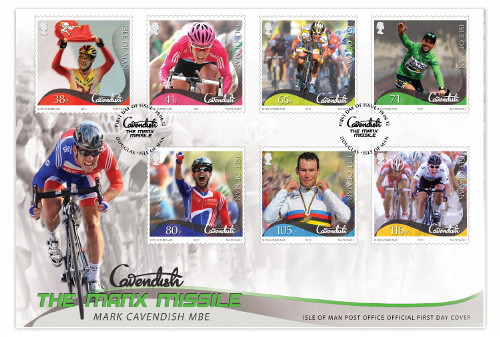 Mark Cavendish-The Manx Missile First Day cover | by iomstampsnews