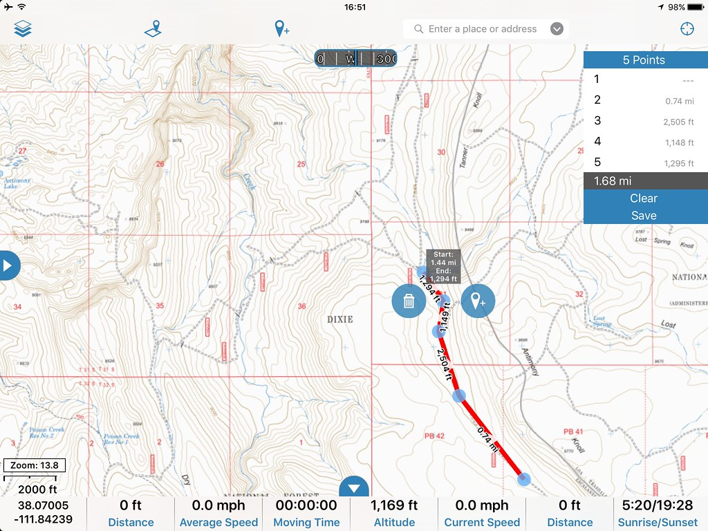 Our Navigation App of Choice - Gaia GPS - 4X Overland Adventures