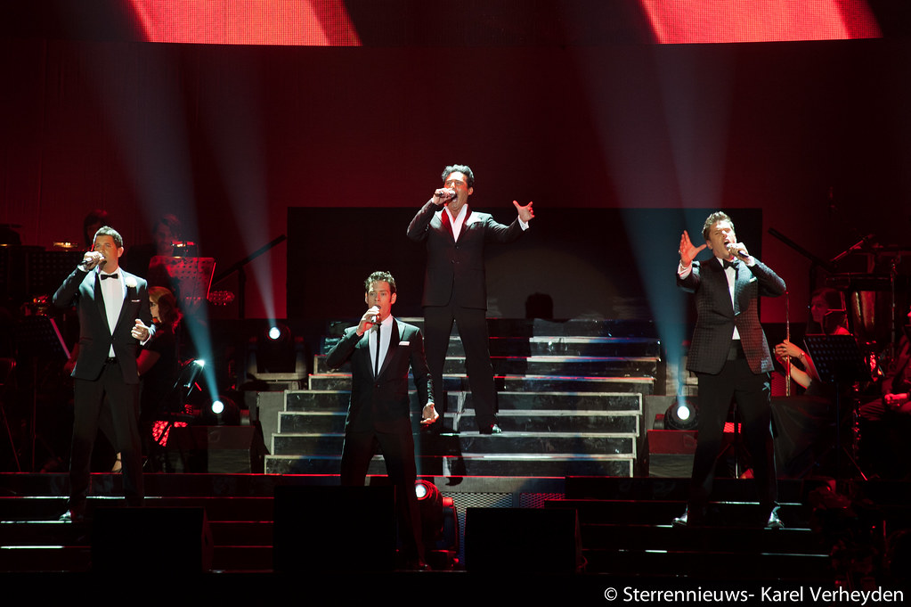 Il divo wicked game tour 2012 in sportpaleis antwerpen for Il divo wicked game