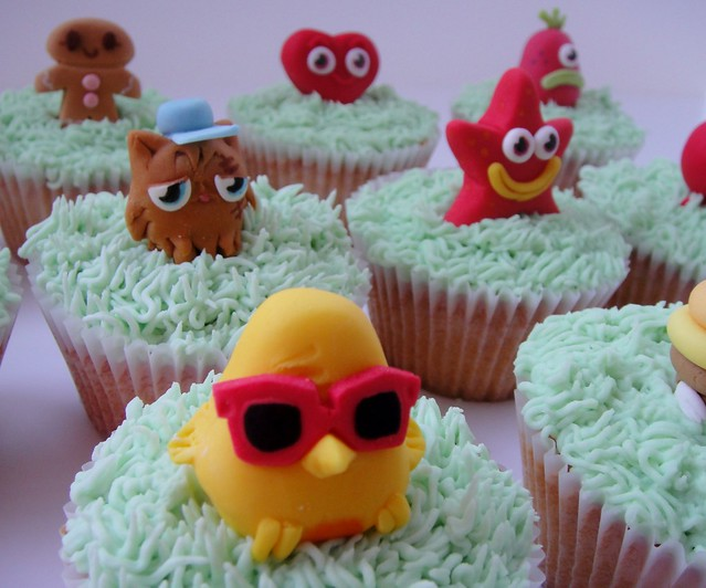Moshi Cupcakes Monsters Cake Ideas and Designs