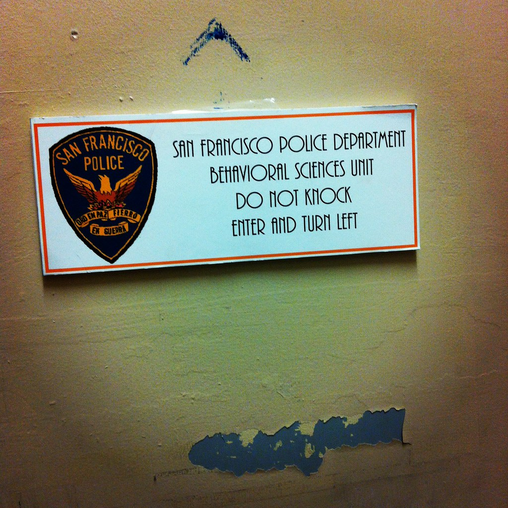 Behavioral Sciences: The @sfpd Behavioral Sciences Unit On Treasure Island #occ