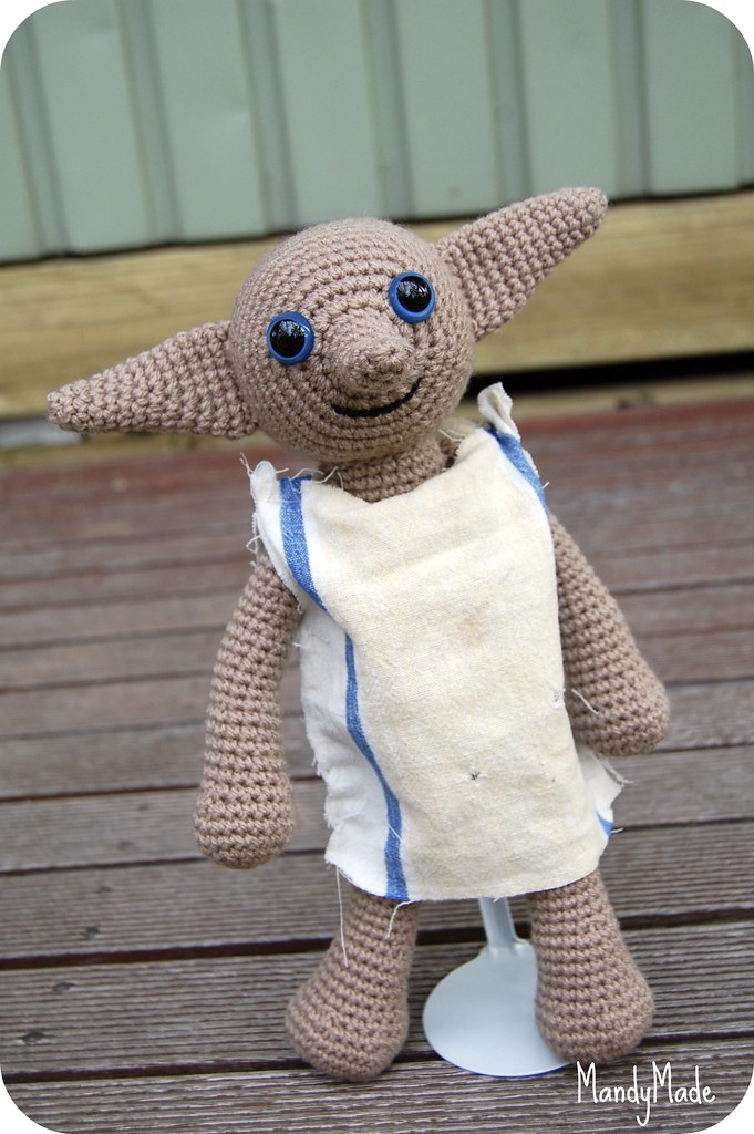 Dobby Harry Potter Amigurumi : Amigurumi Dobby Handmade by MandyMade for my sons 7th ...