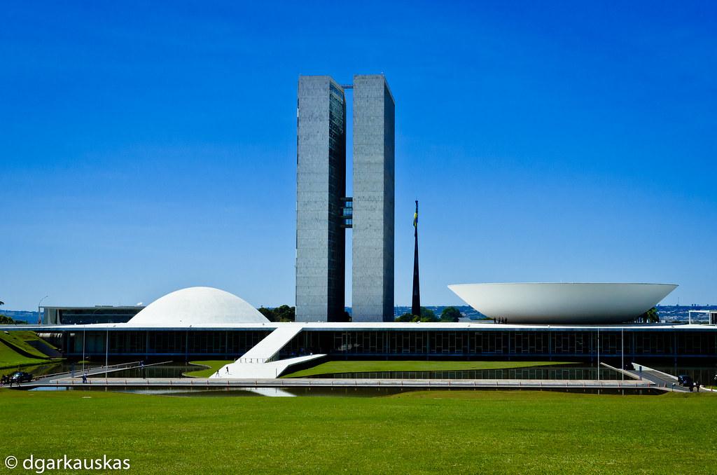 National Congress Bras 237 Lia Brazil Projected By Oscar