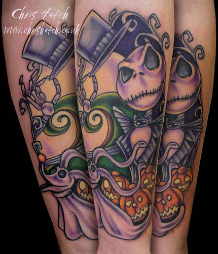 jack skellington Nightmare before Christmas tattoo | by Chris Hatch ... Zero Nightmare Before Christmas Pictures