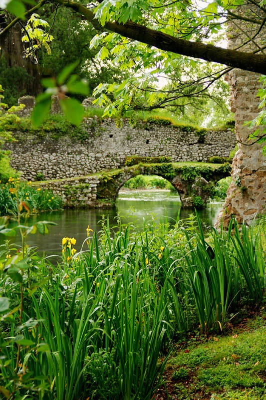 Giardino Di Ninfa Parco Naturale Di Pantanello Flickr