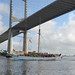 French Tall Ships pass JAXPORT Terminals