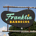 The iconic Franklin Barbecue