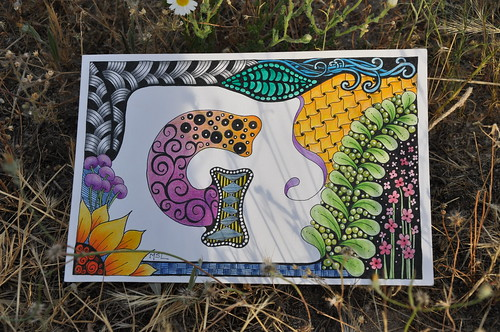 Zentangle | by Marisol Covelo