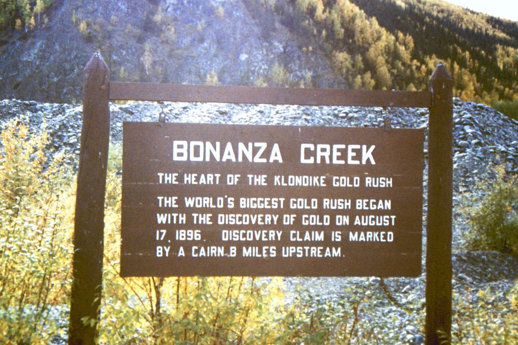 9.5 Bonanza Creek - heart of the Klondike Gold Rush | Flickr