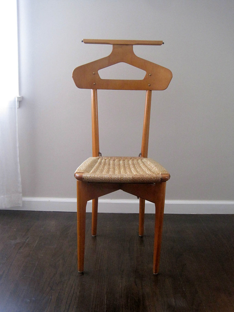 Mid Century Italian Men S Dressing Butler Valet Chair Flickr