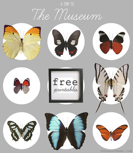 A Trip to the Museum Wall Decor | by The Paper Mama