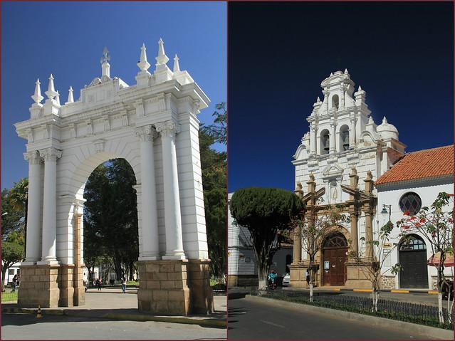 Plaza Pizarro, Sucre