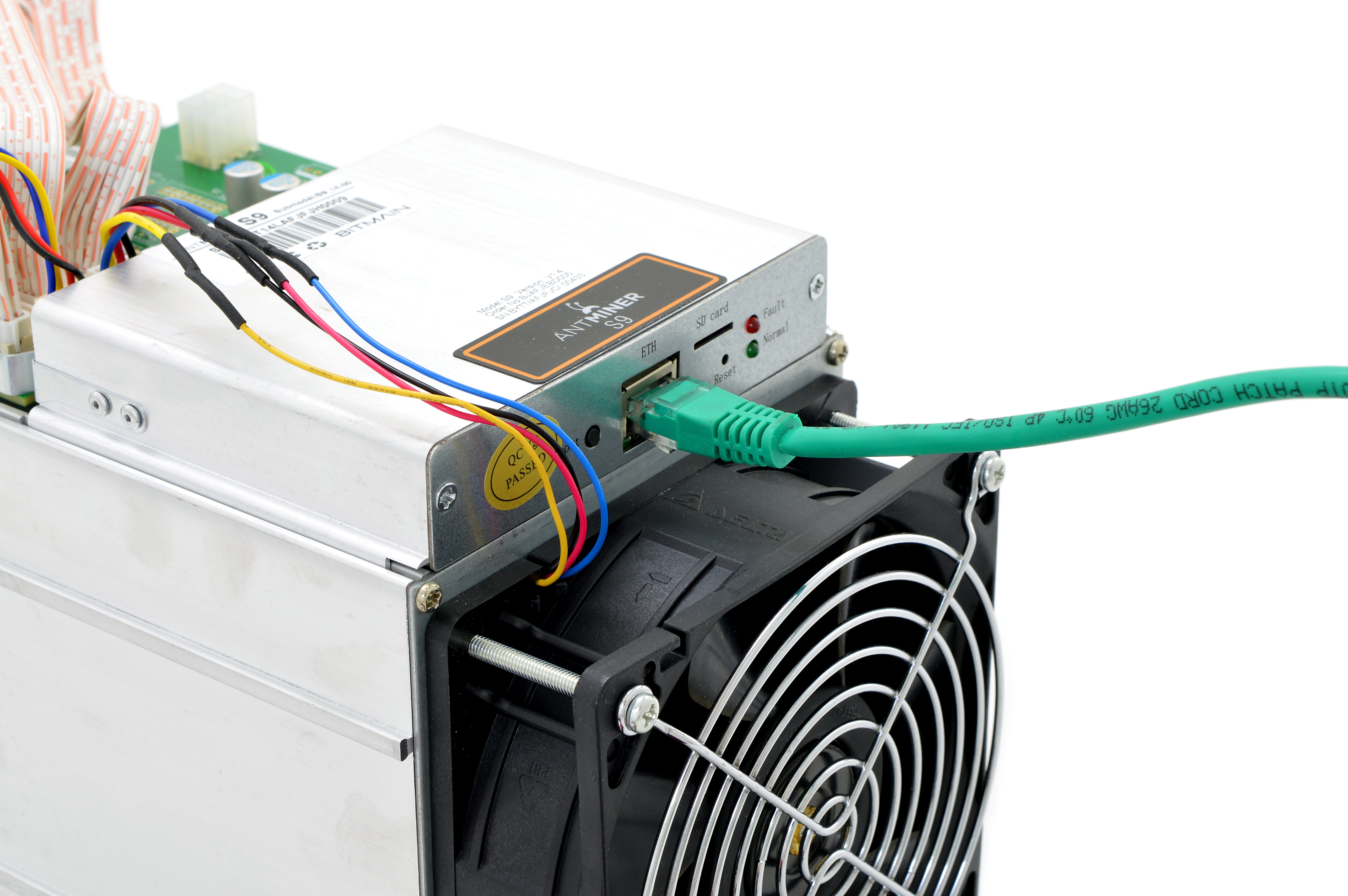 Guide Dogies Comprehensive Bitmain Antminer S9 Setup Hd Want To Control The Blower You Just Need Connect Org Blk Wire
