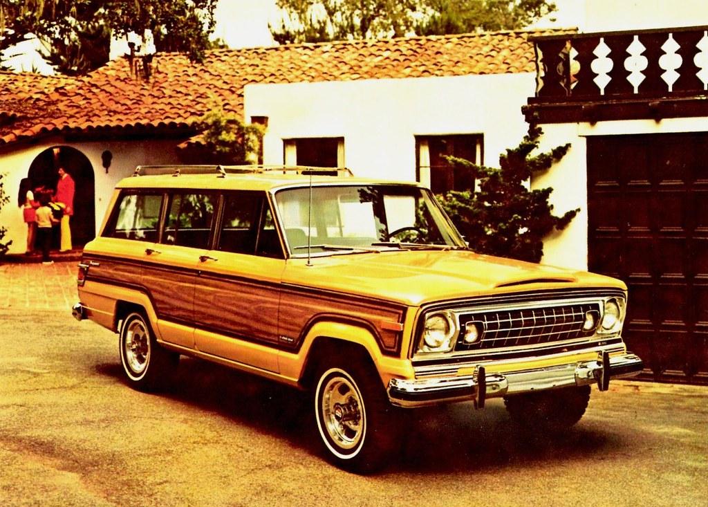 Custom Jeep Grand Wagoneer >> 1975 Jeep Custom Wagoneer in Mellow Yellow | Alden Jewell | Flickr