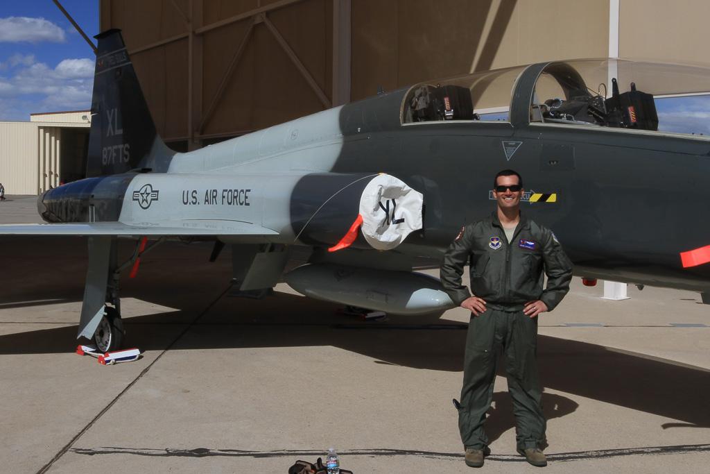 Northrop T 38 Talon 67 14951 87th Fts Laughlin Afb And Pi