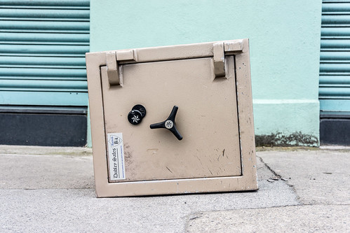 It Is Not Often That I Find A Sealed Safe On The Footpath | by infomatique