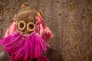 Traditional dogon masque, pays dogon, tireli, mali | by anthony pappone photography