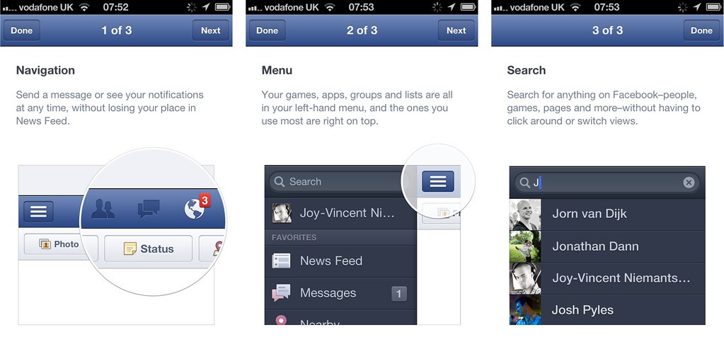free facebook app for iphone tour s tour of the iphone app is 9160
