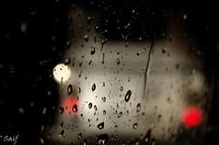 Raindrops Keep Falling on My glass (Head).....;p