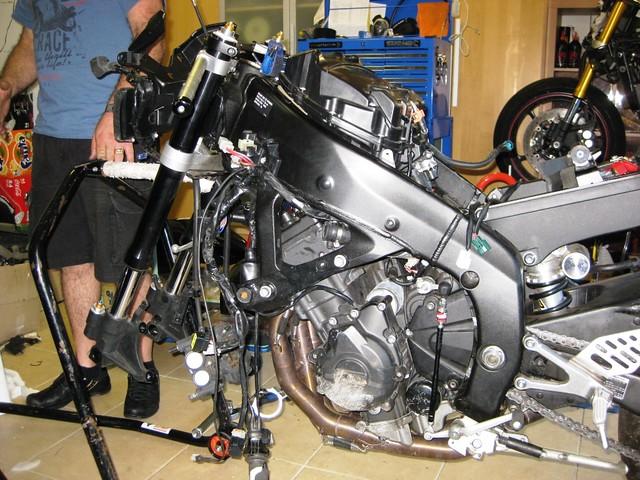 Yamaha R Rebuild Kit