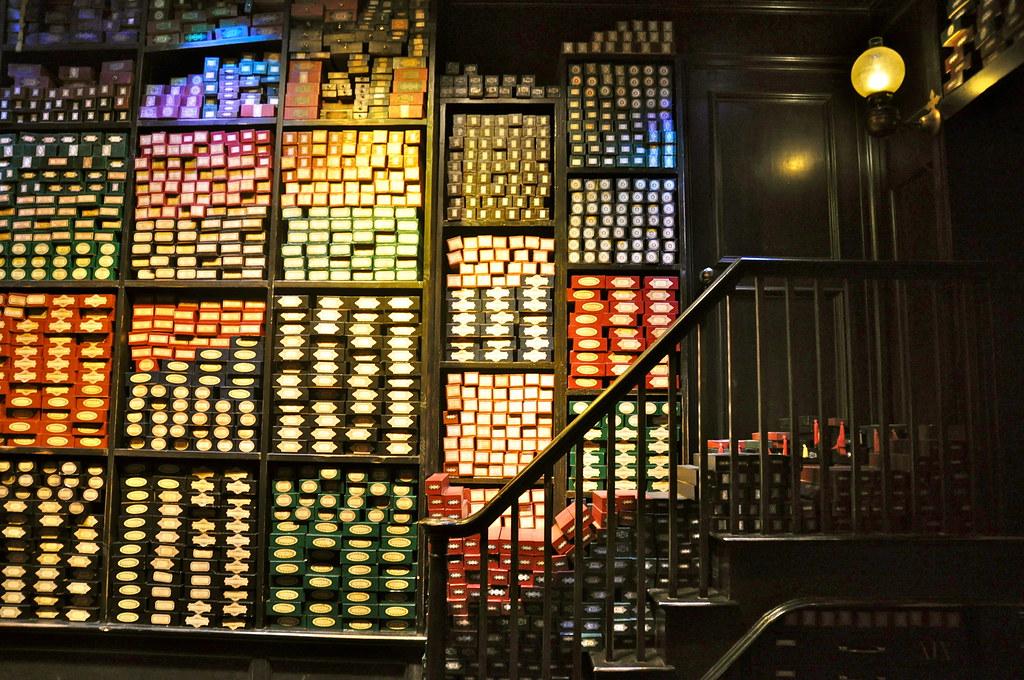 Ollivanders Wand Shop   The Making of Harry Potter. Warner ...