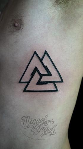 trinity triangle tattoo flickr photo sharing. Black Bedroom Furniture Sets. Home Design Ideas