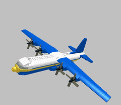 LEGO C-130T Fat Albert 1:85 Scale by SirHandyMan