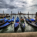 Gondolas on a Cloudy Day
