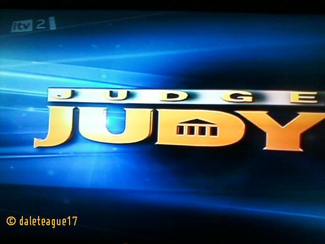 Judge Judy - ITV2 Holding Slide   Judge Judy - ITV2 ...