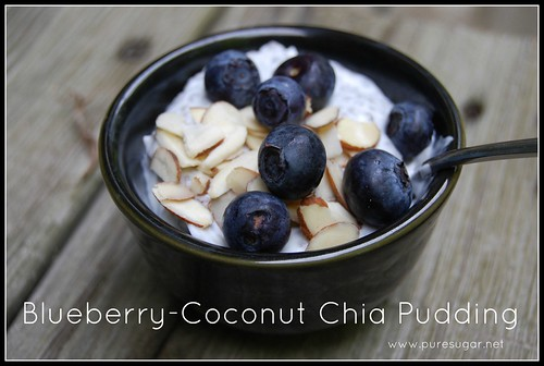blueberry-coconut chia pudding | by pure.sugar