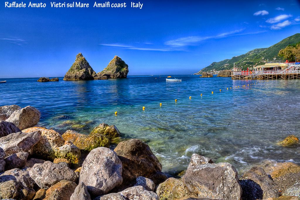Vietri Sul Mare Italy  City new picture : Vietri sul Mare SA , amalfi coast, Italy : beach of the two brothers ...