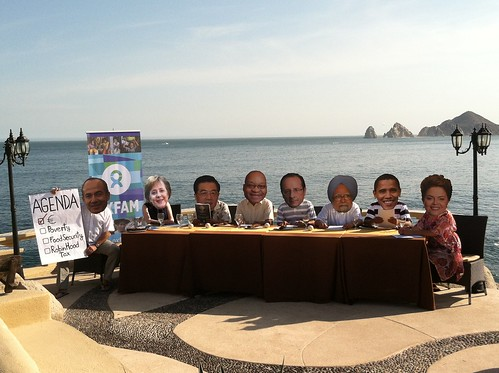 G20 Leaders Have a Working Lunch in Los Cabos | by Oxfam International