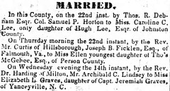 Elizabeth L. Graves Marriage_The_Weekly_Standard_Wed__Jun_28__1843_